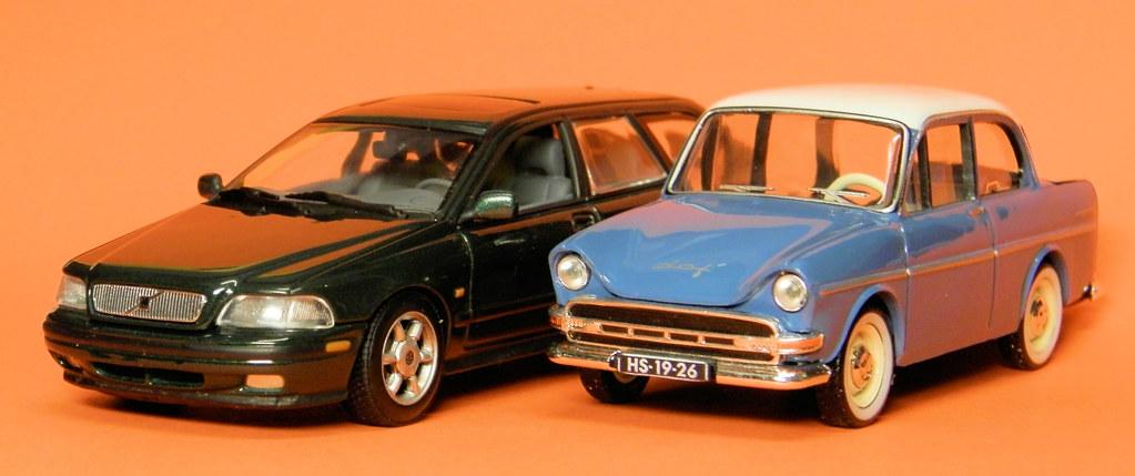 Dubbel-Dutch: Daffodil & Volvo V40 ( 1:43 ) | Volvo V40 scal