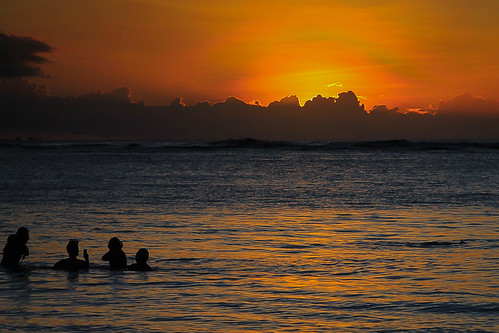 sunset beach guam
