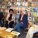 Riccardo Gatteschi presenta alla libreria Rinascita di Empoli 'La gabbia dei matti cattivi'. Maggio 2010.
