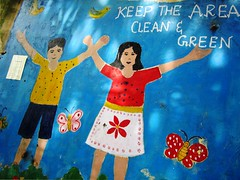 Clean India Graffiti
