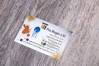 Visitenkarten Pro Regio | by www.arternative-design.com