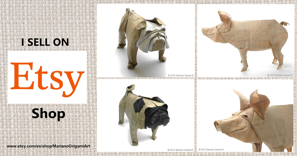 My Etsy Origami Shop You Can See All The Information In My Flickr