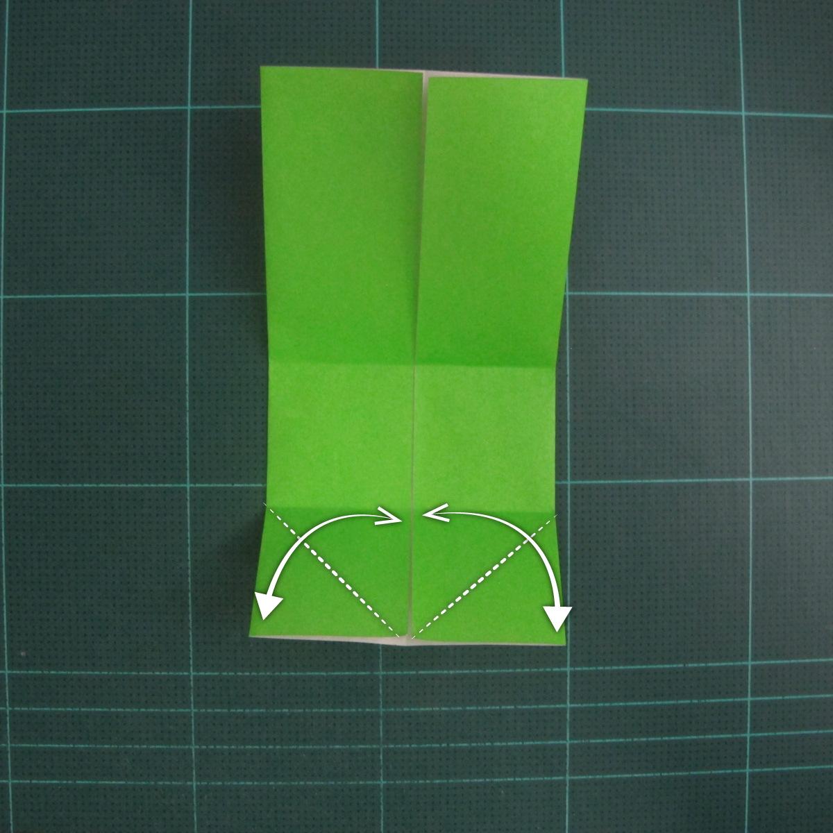 การพับกระดาษเป็นรูปแรด (Origami Rhino) 004