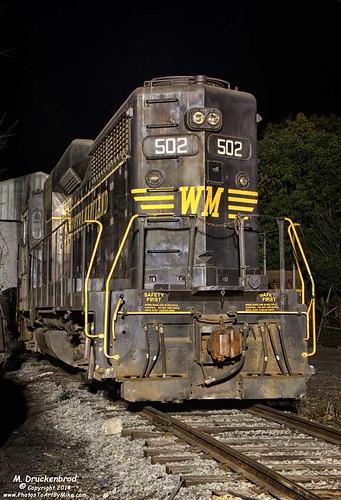 railroad wv cumberlandmaryland westernmarylandscenicrailroad wsmr cumberlandstation ridgeleywestvirginia number502diesellocomotive ridgeleyshops wmsryard