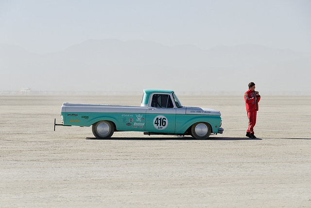 not your grandfather's pickup. el mirage, ca. 2014.