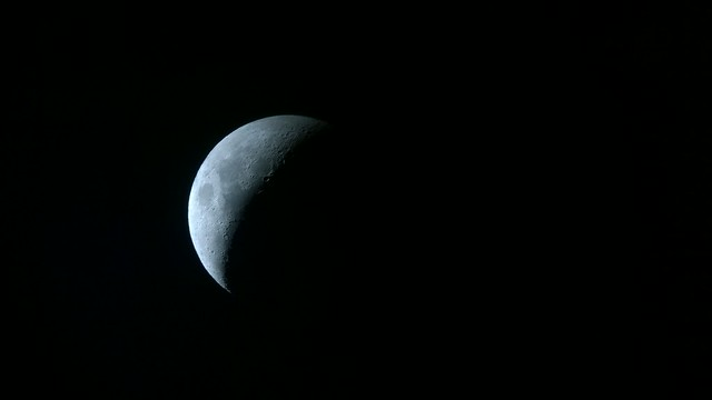 The Moon, as shot through my telescope using my Nokia Lumia 1020