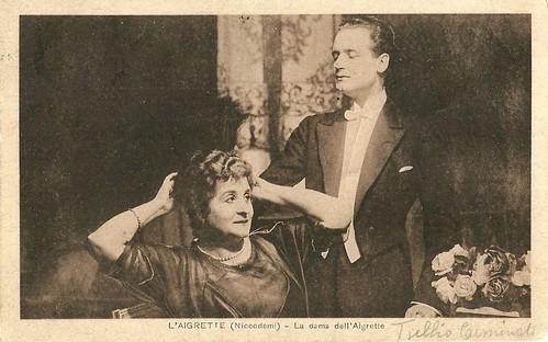 Tullio Carminati and Ida Carloni Talli in L'aigrette