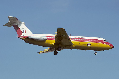 XX105 BAC-111 RAE, MOD(PE) Bedford | by Stuart Freer - Touchdown Aviation