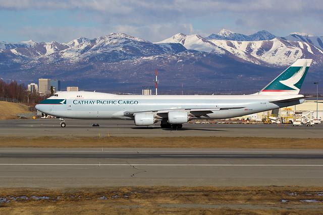Cathay Pacific B-LJE 20 Apr 14 CPA97 PANC VHHH