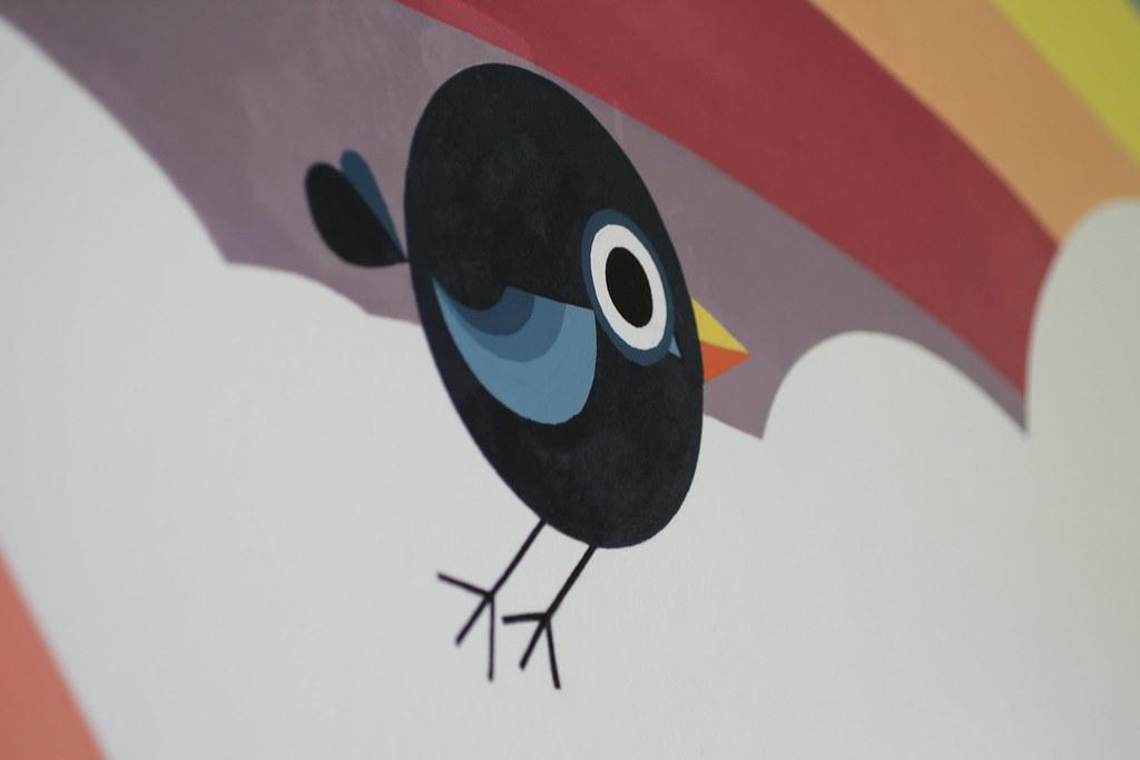 Peinture murale pour une école maternelle