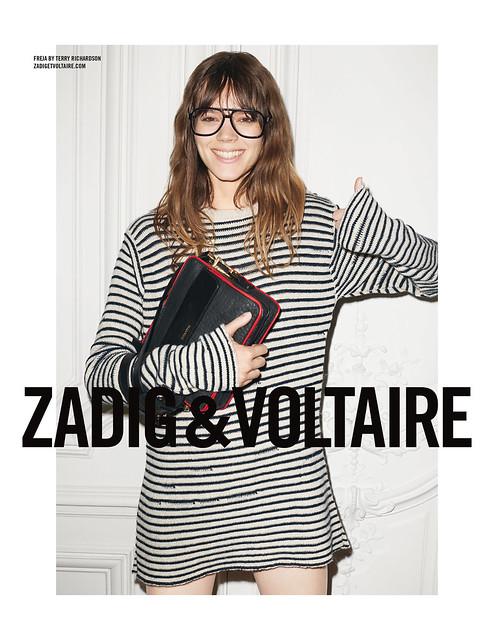 Zadig & Voltaire Fall Winter 2014 Campaign 220x285 Model: Freja Beha Erichsen Photograph: Terry Richardson
