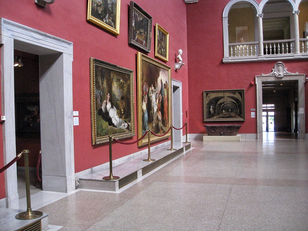 Hartford Connecticut ~ Wadsworth Atheneum Museum of Art ~  Gallery