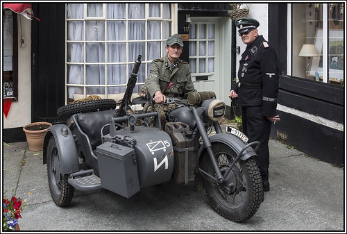 1940s Re-enactment, Ingleton, 2016