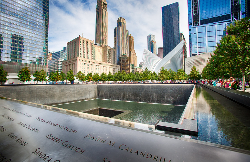 9/11 Memorial - free things to do in nyc