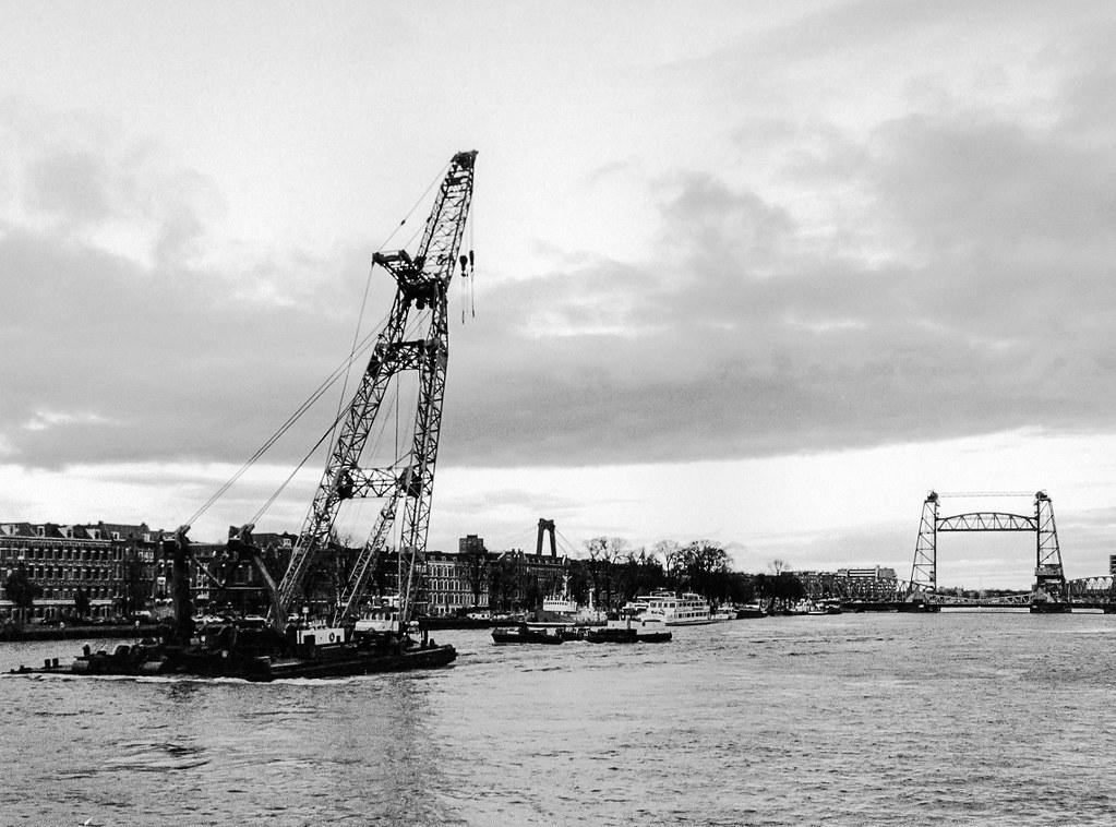 Rotterdam: Nieuwe Maas.