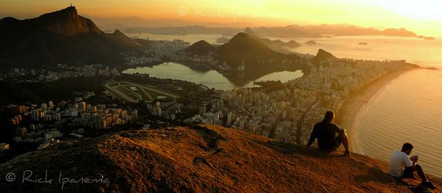 Amanhecer no Morro Dois Irmãos - Rio de Janeiro Dawn in