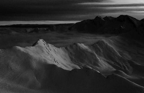 white alpinemountainsbwblack
