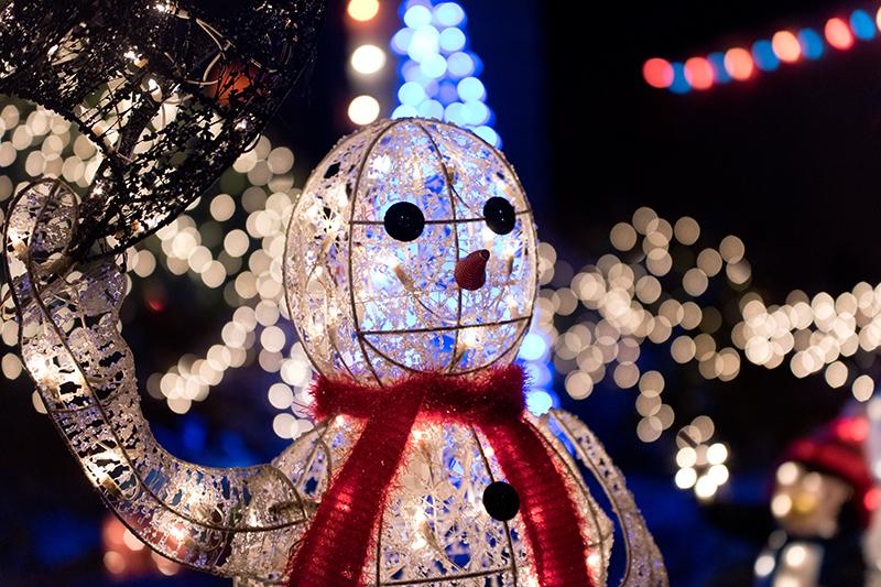 One Happy Snowman