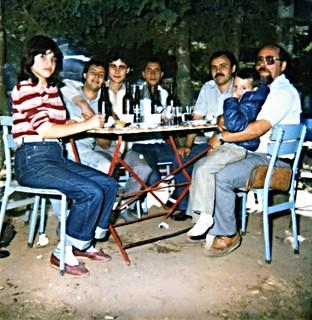 Ali with friends, Bursa, Turkey 1976 ?