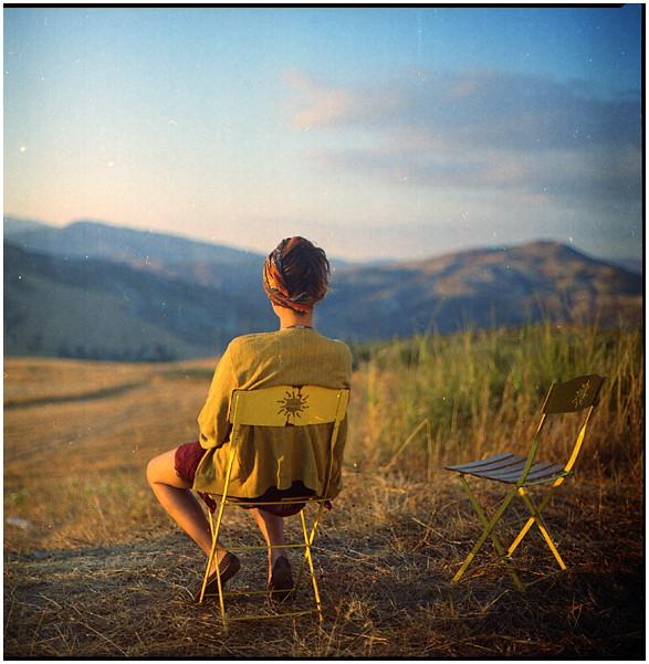 .kijk om je heen en kies je mooie plekje