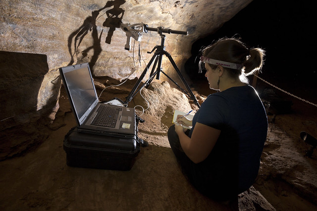 Sierra Bow, XRF, Dunbar Cave, Dunbar Cave State Park, Montgomery County, Tennessee 1