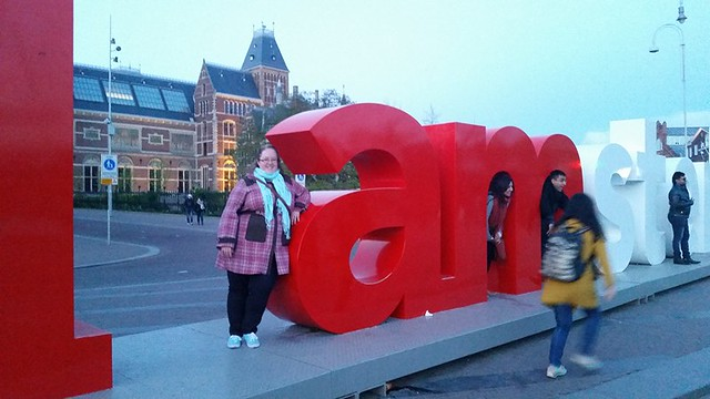 Andie is in Amsterdam!