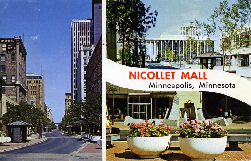 Nicollet Mall Minneapolis MN