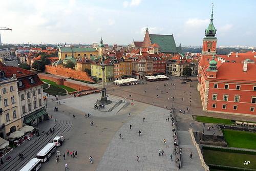 Schlossplatz und Königsschloss - Warszawa