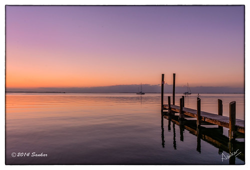 sunset keys gulf florida lagoon fl beech floridakeys sankar keylargo kokomo slowshutterspeed gulfcoast deepbay sankarraman msankar sankarramanphotography
