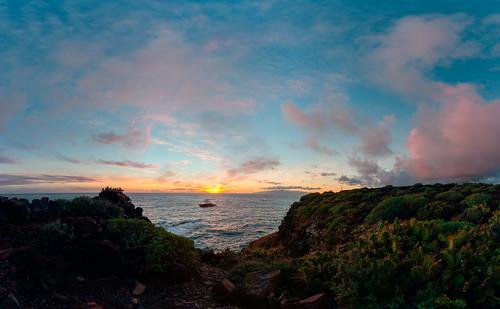 sunset panorama reisen tech natur landschaft teneriffa spanien kanarischeinseln adejetenerife