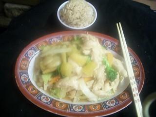 B9 Hawaiin Chicken   by Golden Gate Chinese Restaurant