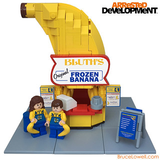 LEGO Bluth's Original Frozen Banana Stand | by bruceywan