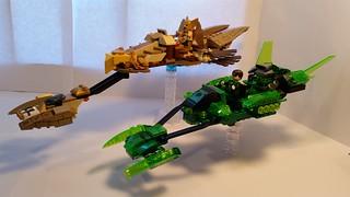 Green Lantern AND Hawkman Speeder Bikes | by Lantern-0