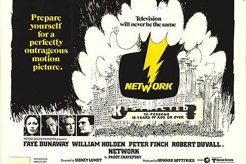 """Network"" (1976) Movie Poster"