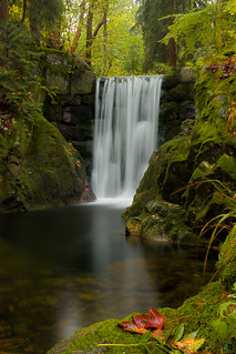 "Waterfall at ""Hart Mountain"" in Poland #2 