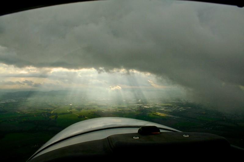 Clouds over Bielefeld