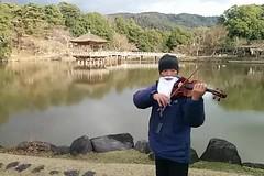 Walking Street Musician at Nara Park
