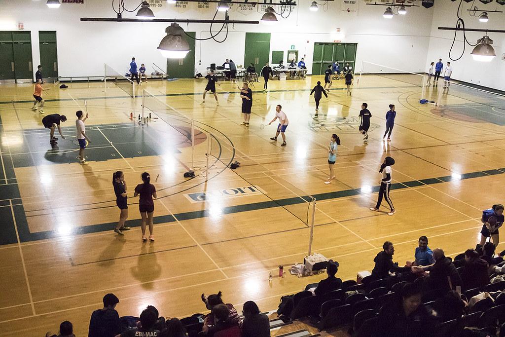 badminton courts