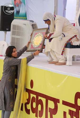 Dr. APJ Abdul Kalam World Peace Award presenting to Her Holiness