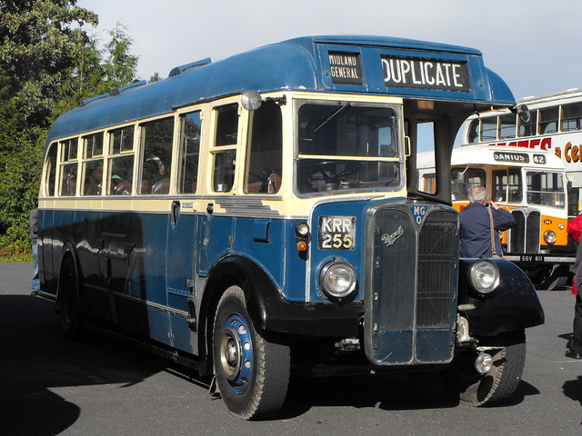 175, KRR 255, AEC Regal III, Weymann Body (DP35F), 1949