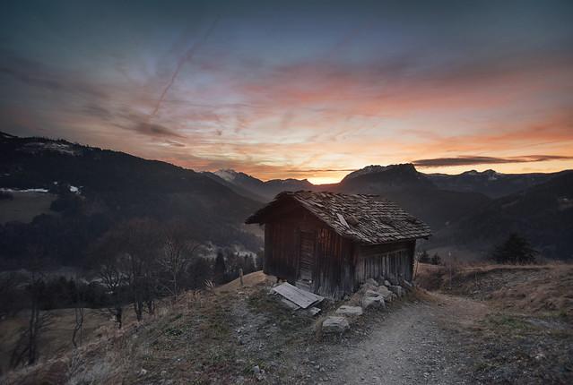Une Cabane à la Montagne