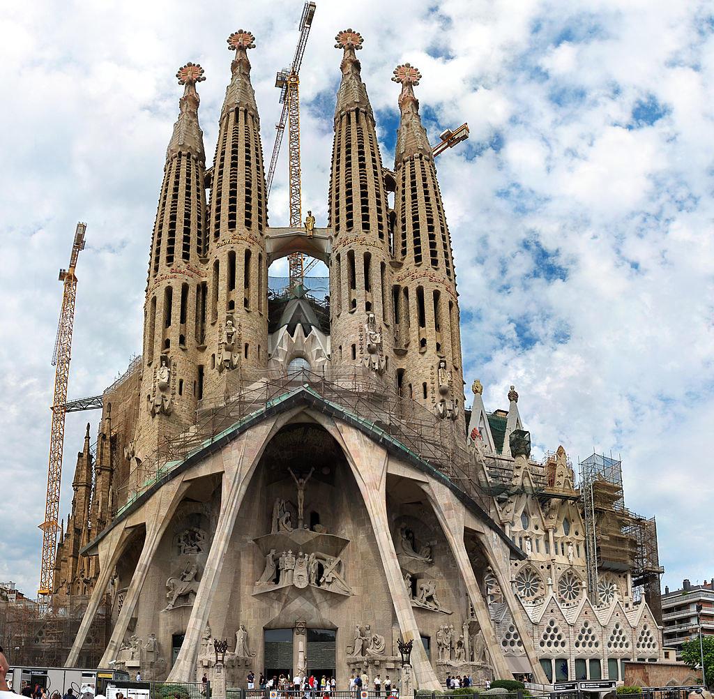 Sagrada Familia - Passion façade-