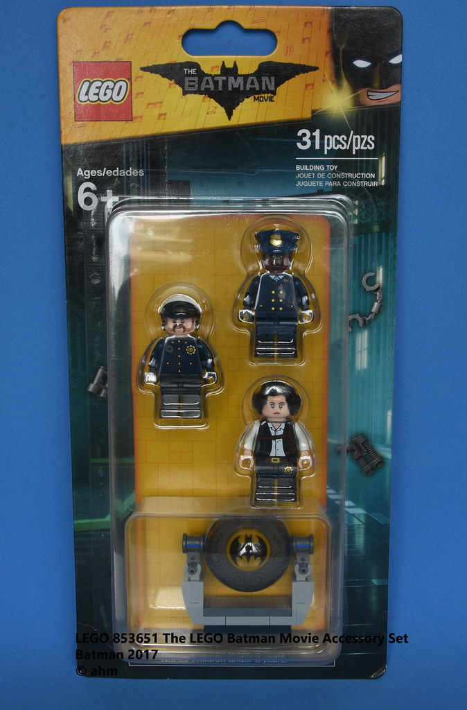 New Chief O'hara Lego Batman Movie Gotham City Police Minifigures 853651