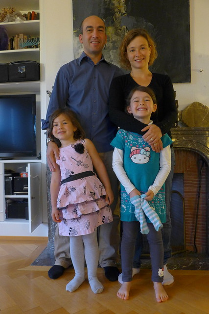My host family in Lausanne