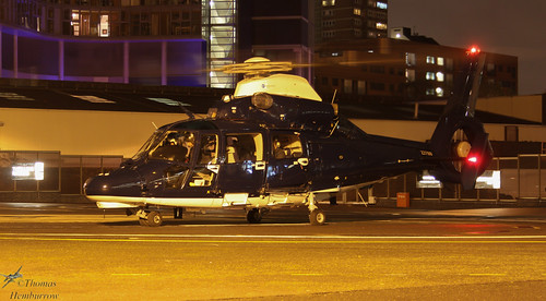 658 Sqn AAC Dauphin II at London Heliport | by TH1213