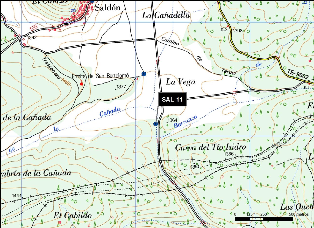 SAL_11_M.V.LOZANO_GAMELLONES LA HOCECILLA_MAP.TOPO 2