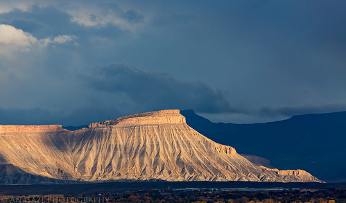 Mount Garfield Light   by IntrepidXJ