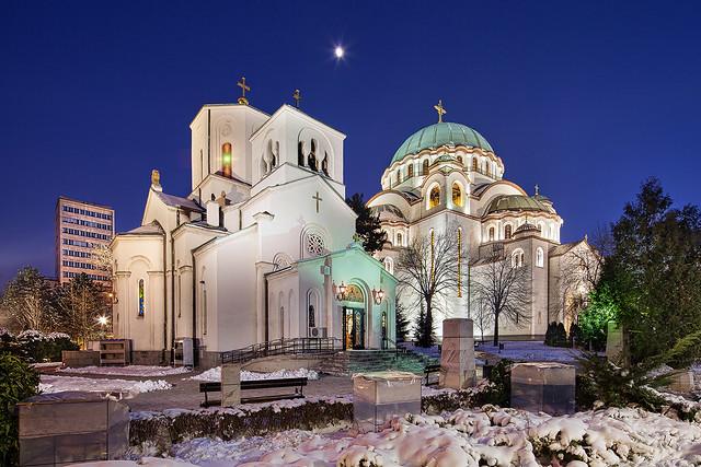 Црква Светог Саве и Храм светог Саве
