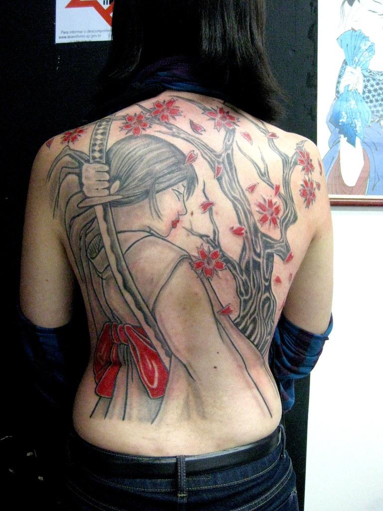 Japanese Samurai Tattoo Meaning Infinitytattoos Info Japan Flickr