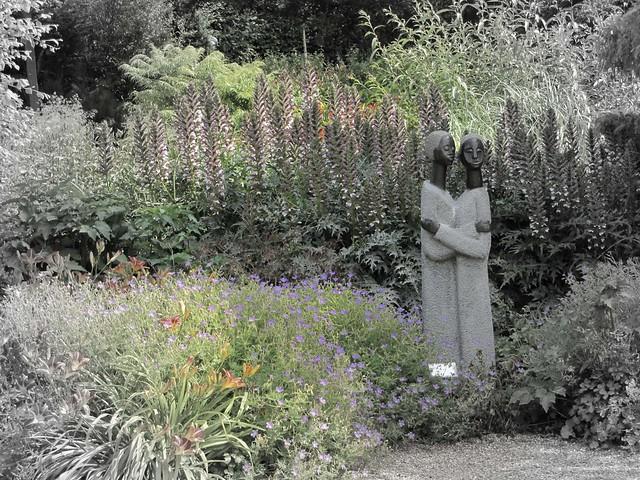Sculpture in Hyde Hall Gardens